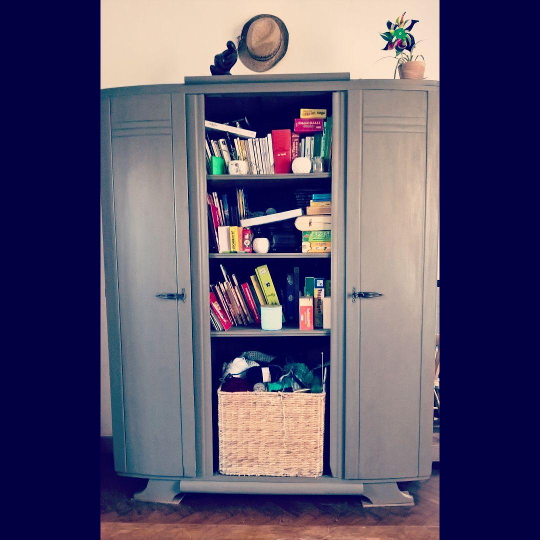 Relooking Et Transformation D Une Garde Robe Chin E Chez Emma S En  # Realiser Meuble Buffet Bibliotheque