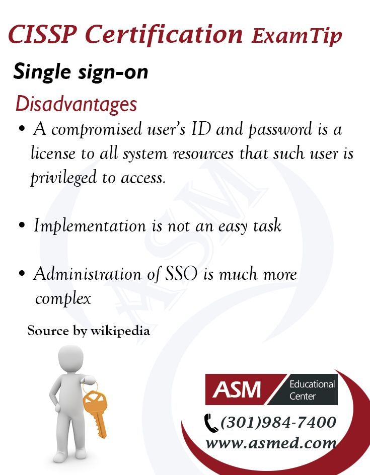 Cissp Certification Traning Exam Tip Single Sign On R More