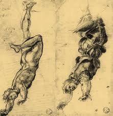 Disegni preparatorii di Andrea del Sarto per i ritratti d'infamia dei traditori