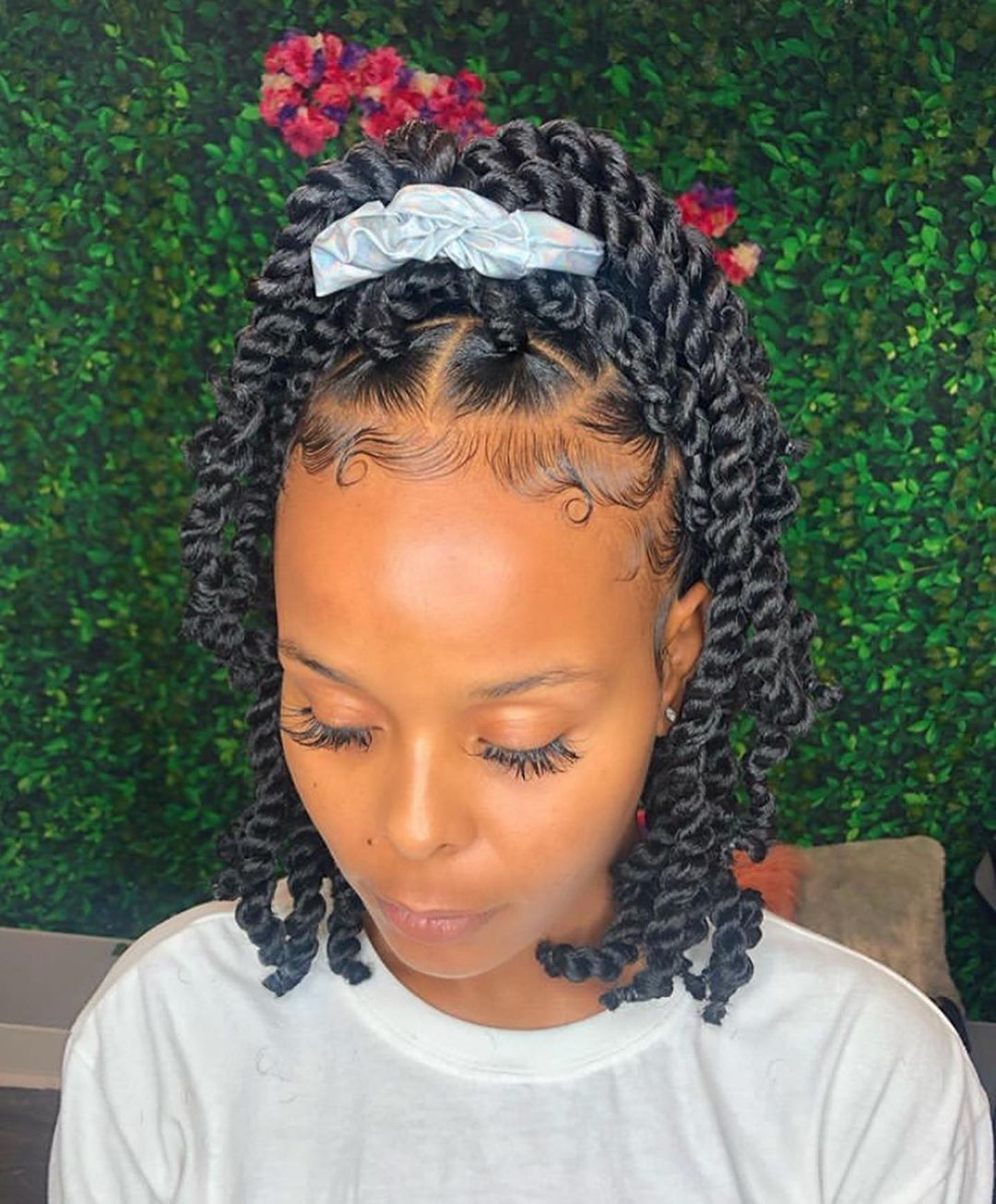 Beauty Depot S Instagram Profile Post Euphoricstylez Short Passion Twists For Su In 2020 Natural Hair Styles Easy Natural Hair Styles Black Girl Braided Hairstyles