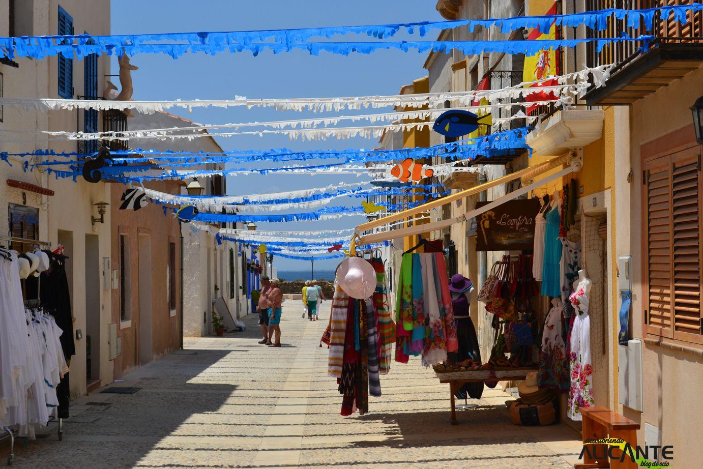 Calles de la isla de tabarca alicante costa blanca spain pinterest alicante spain and - Casa en tabarca ...