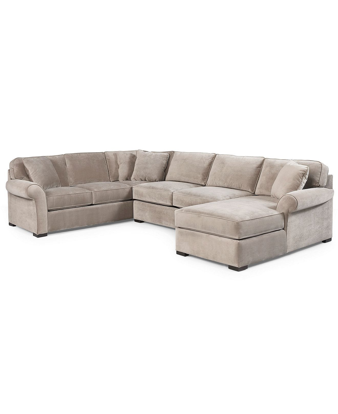 Best Joyce Fabric Sectional Sofa 3 Piece Apartment Sofa 640 x 480