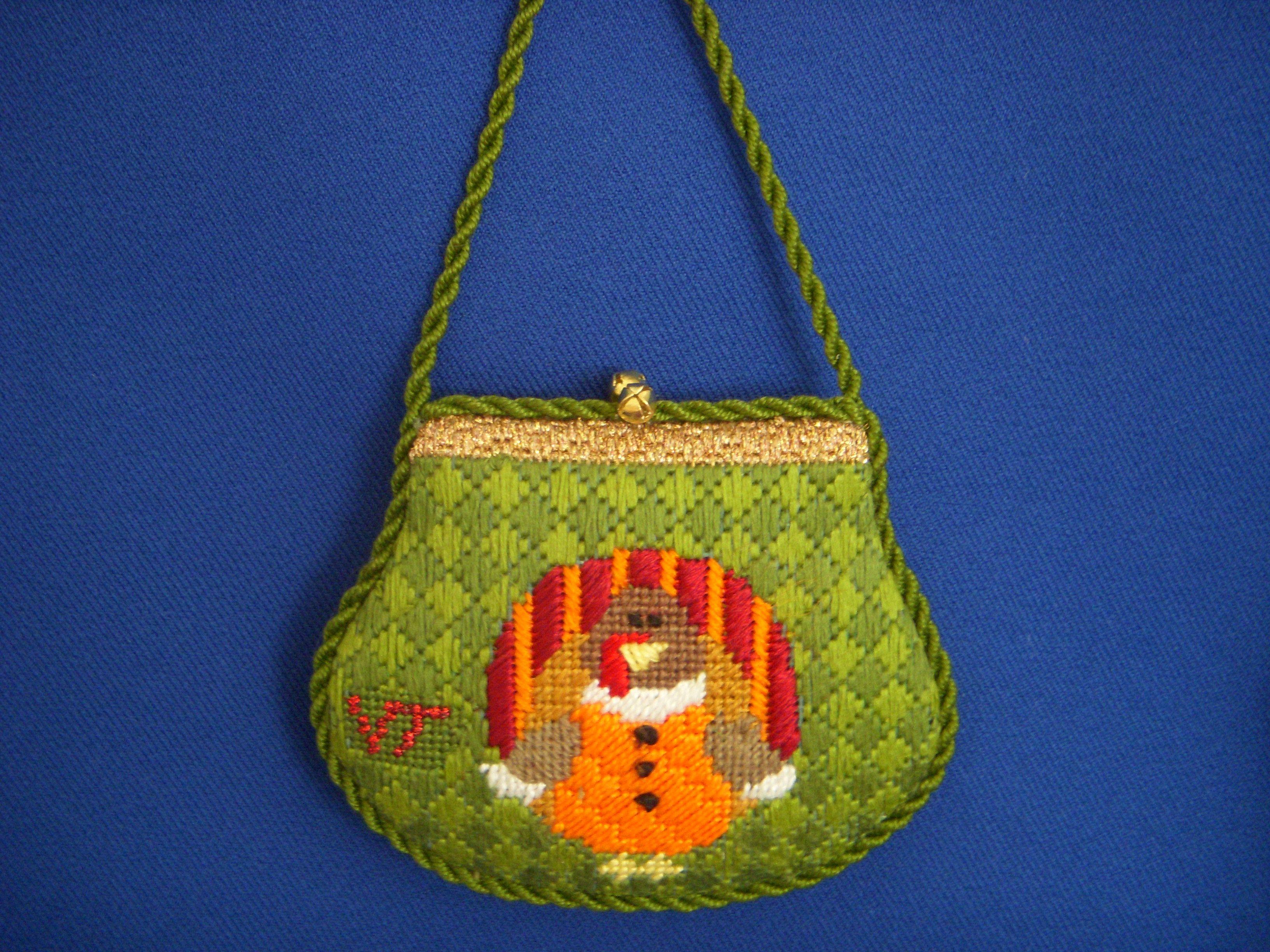 Fun purse ornament