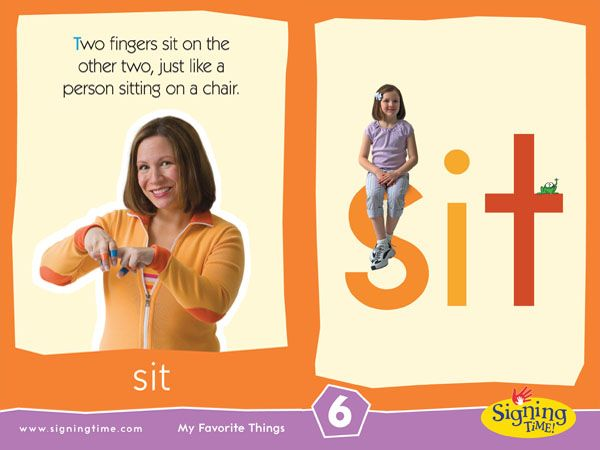 Sign Of The Week Sit Sign Language For Kids Sign Language Phrases Homeschool Sign Language