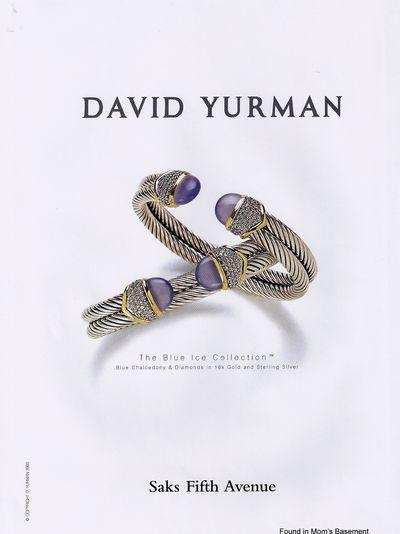 2000 Ad for David Yurman jewelry