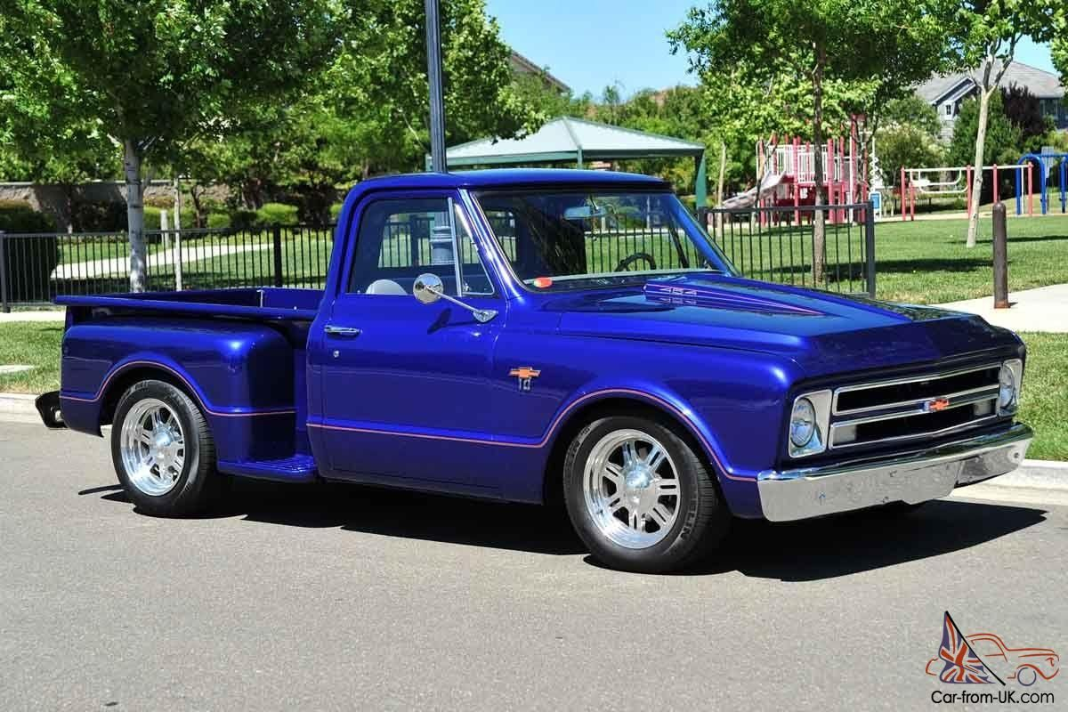1967 Chevy Stepside | Custom 1967 Chevy C10 Stepside Pickup Truck 454/400  12 Bolt