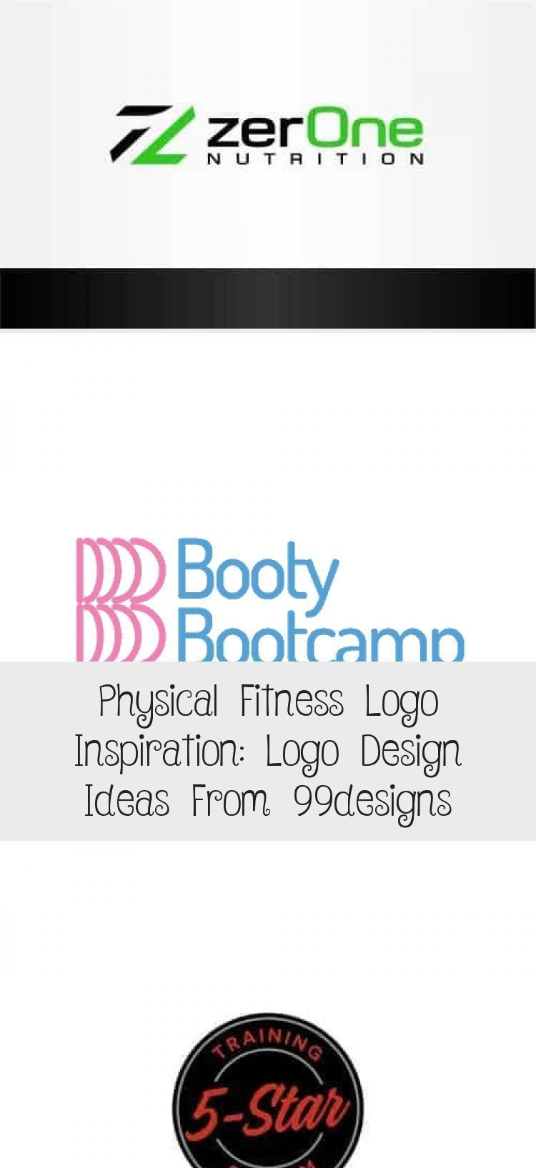 Physical Fitness Logo Inspiration: Logo Design Ideas from 99designs #logodesignK... -  Physical Fitn...