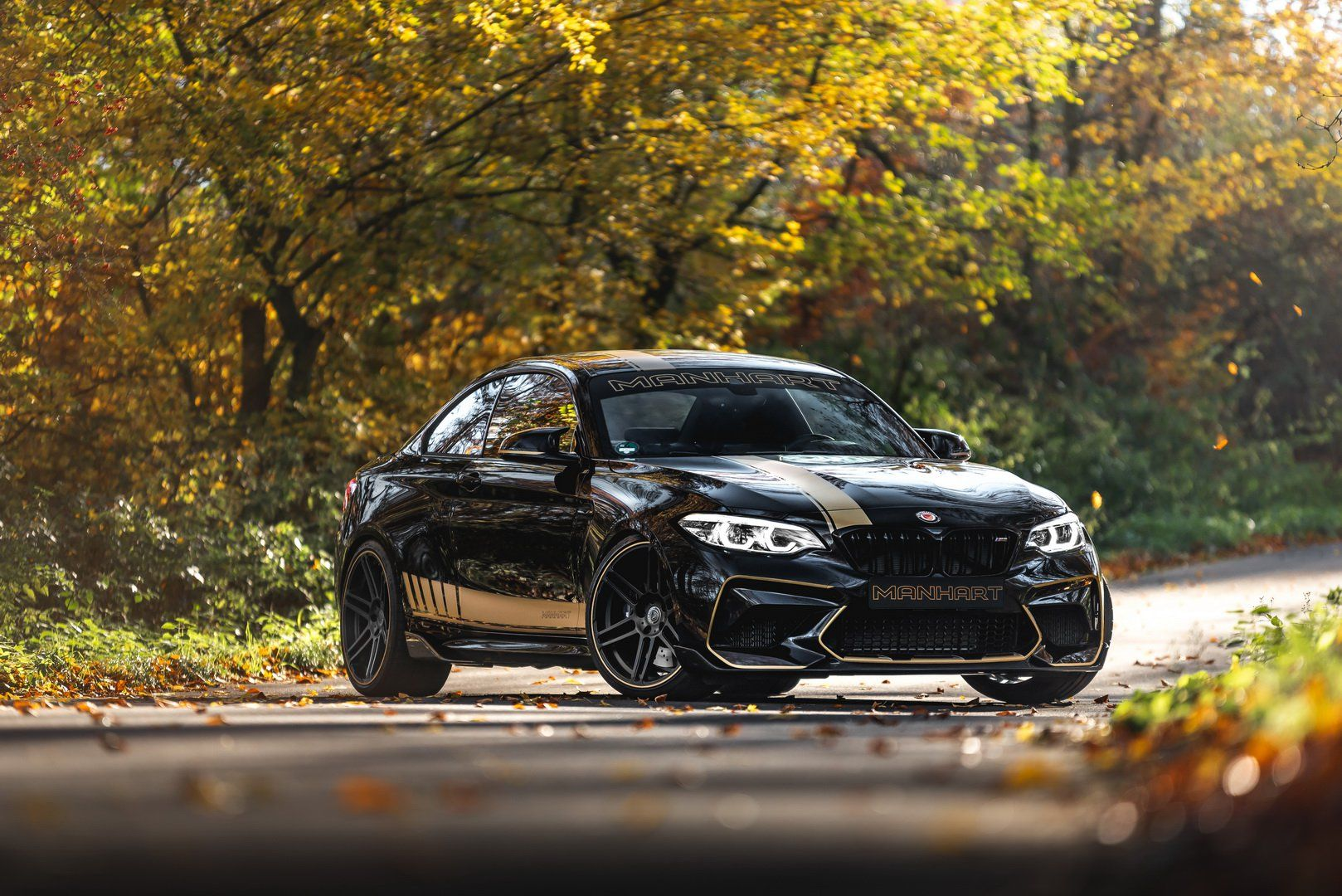 Bmw M2 Competition Gets 550 Hp To Play With From Manhart With