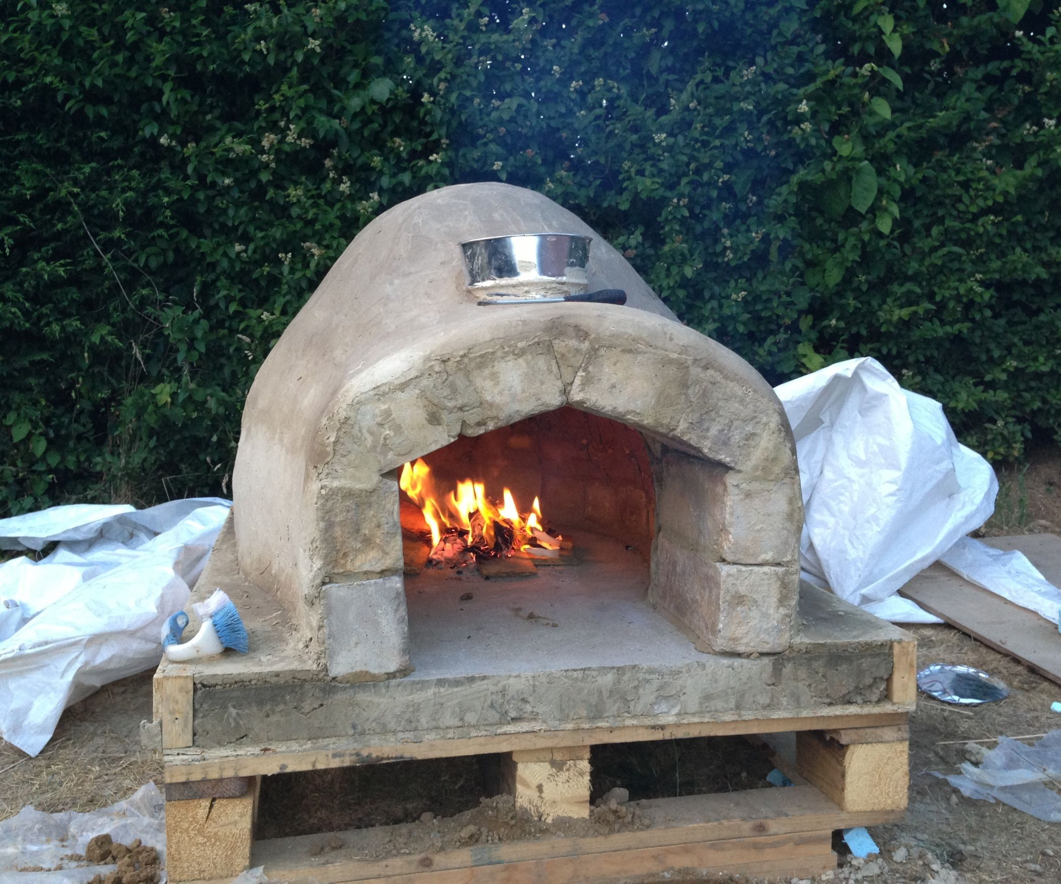 Pizza Holzofen Selber Bauen How To Make A Homemade Pizza Oven Tyler S Pizza Farm Idea