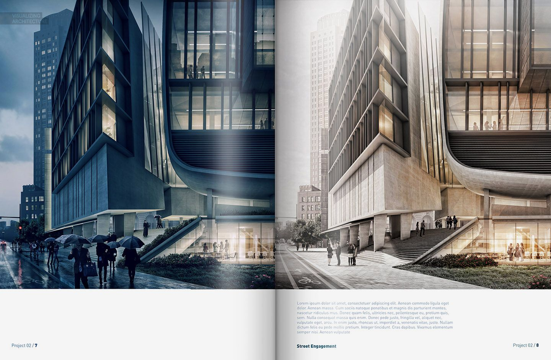 Culture Center Spreads Visualizing Architecture