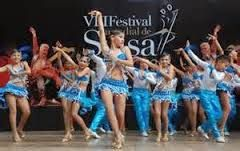 Bailarines de salsa
