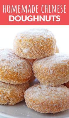 Homemade Chinese Doughnuts