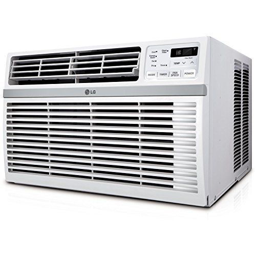 Lg Lw1016er 10 000 Btu 115v Window Mounted Air Conditioner With Remote Control Best Window Air Conditioner Window Air Conditioner Room Air Conditioner
