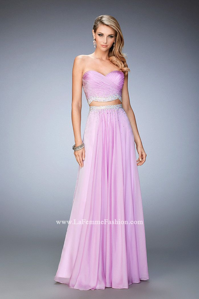IN STOCK NOW LAVENDER SIZE 4 La Femme prom dress style 22069 ...
