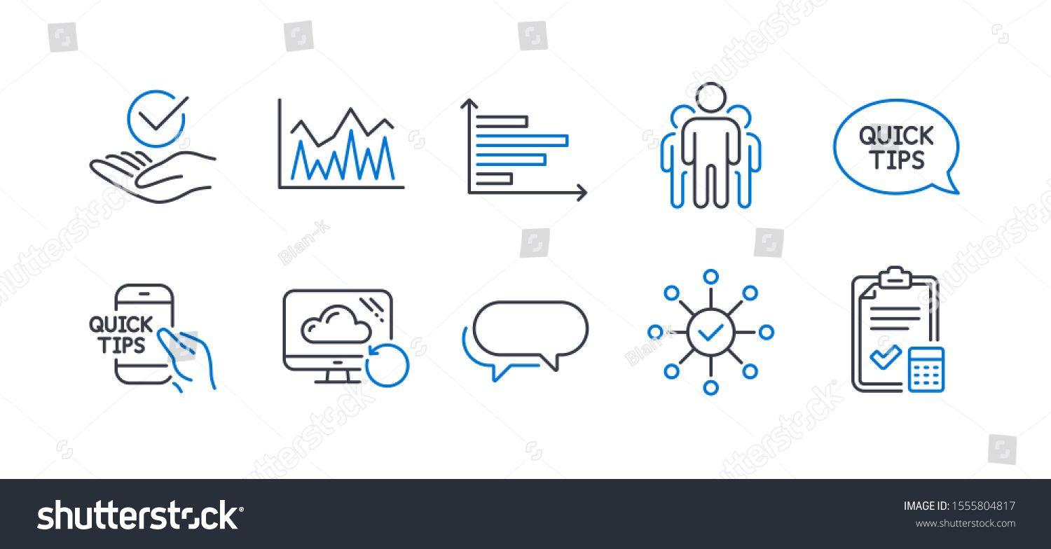 Set Of Education Icons Such As Investment Quickstart Guide