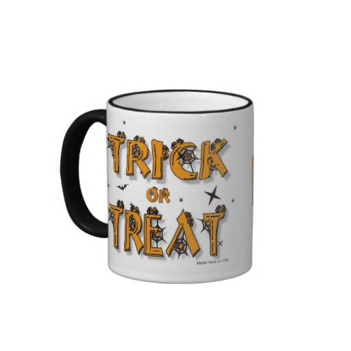 Halloween Trick-or-Treat / Boo! Mug | Zazzle.com ...