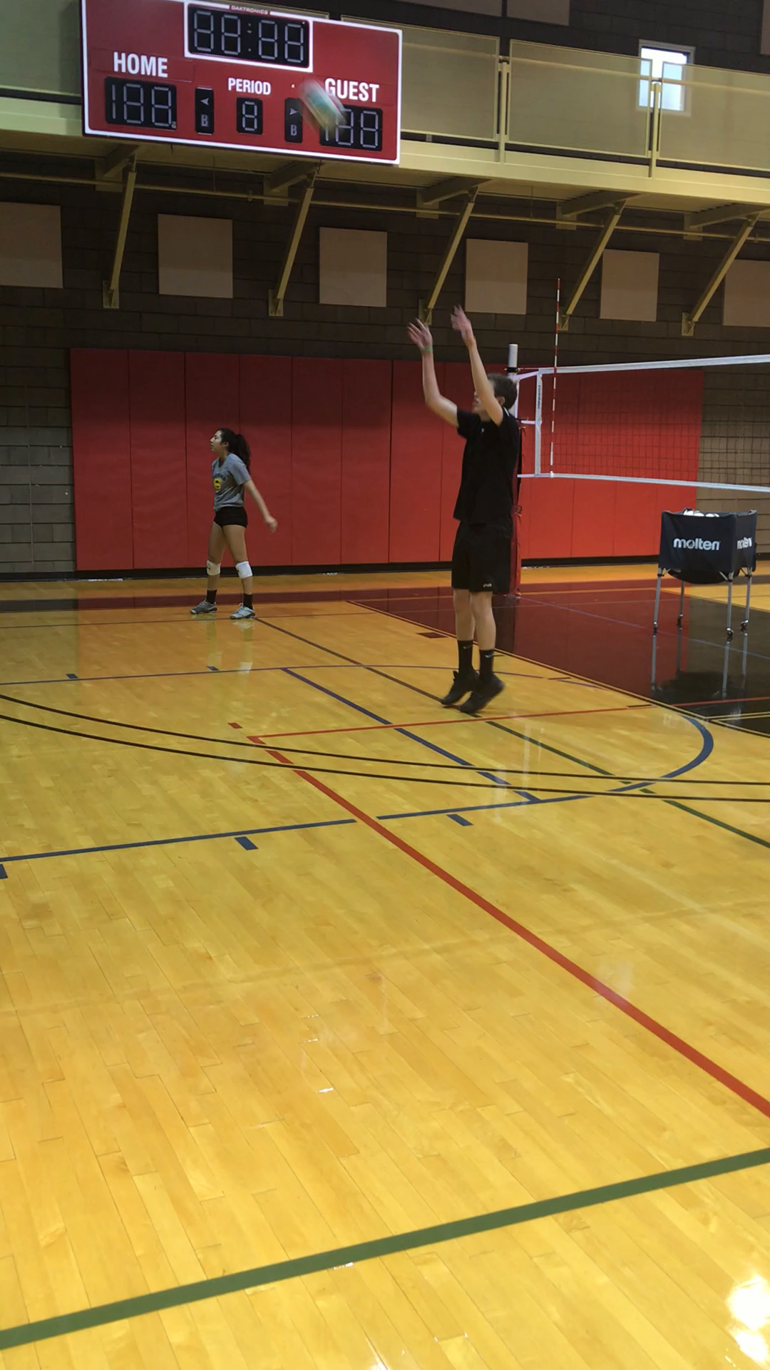 Volleyball Setting Drills Video Coaching Volleyball Volleyball Workouts Volleyball Training