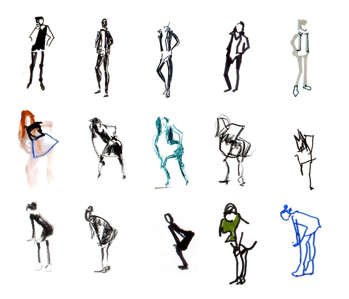 Grouillots simple et efficace logo pictogrammes gouillots en 2019 pinterest - Modele dessin personnage ...