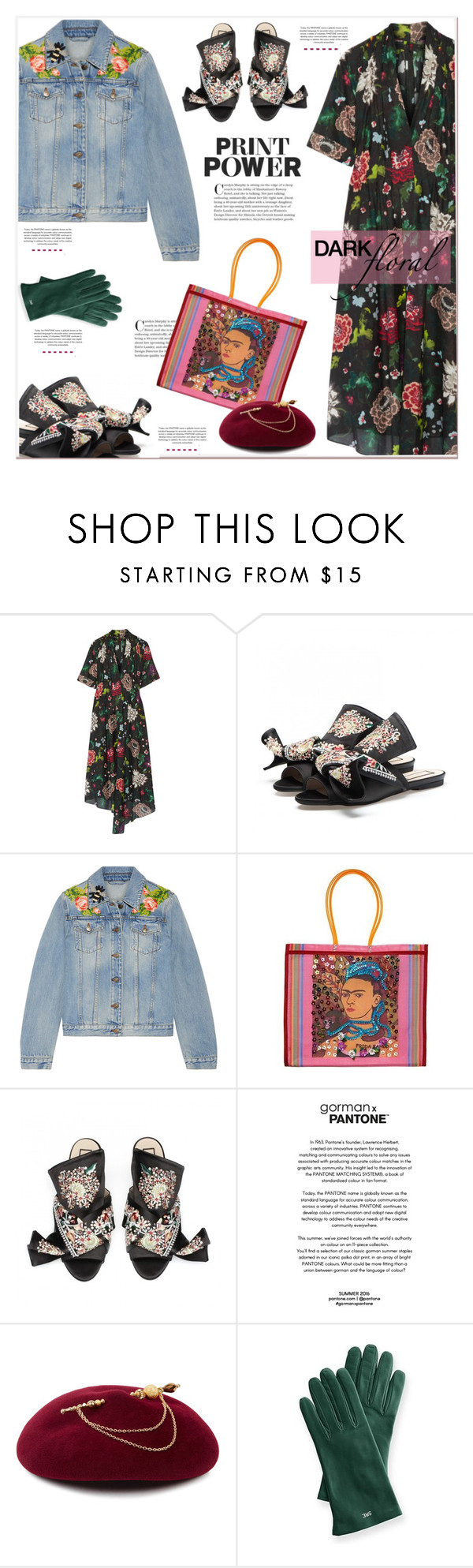 """""""Print Power"""" by anne-irene on Polyvore featuring ADAM, Gucci, Victoria Grant and Mark & Graham"""