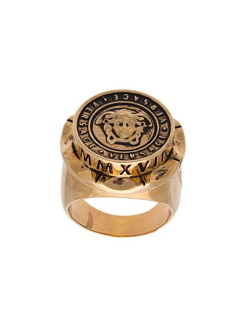 fb0ce1f7ac254 Shop Versace Medusa medallion ring. | Ring in 2019 | Versace, Rings ...