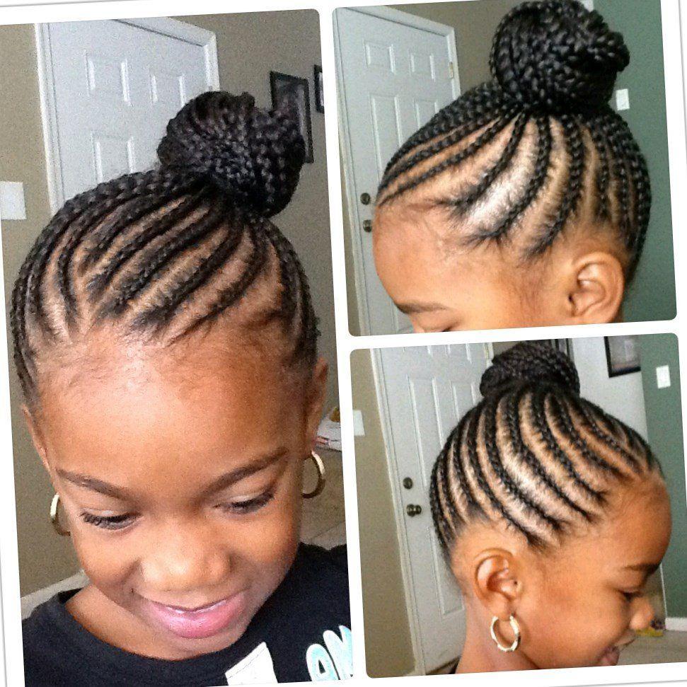 19+ Coiffure simple pour petite fille noire le dernier