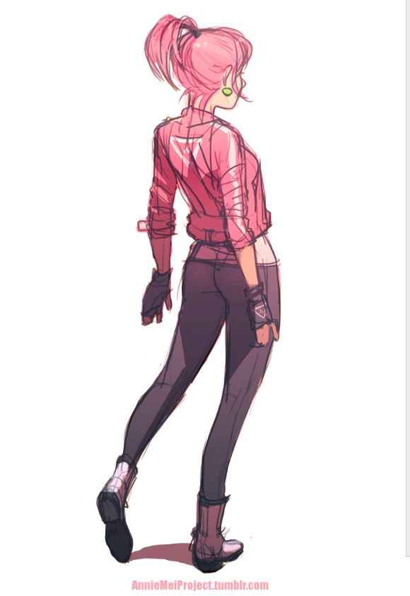 "anniemeiproject: "" Why don't I dress up Annie in pink more often? idk """