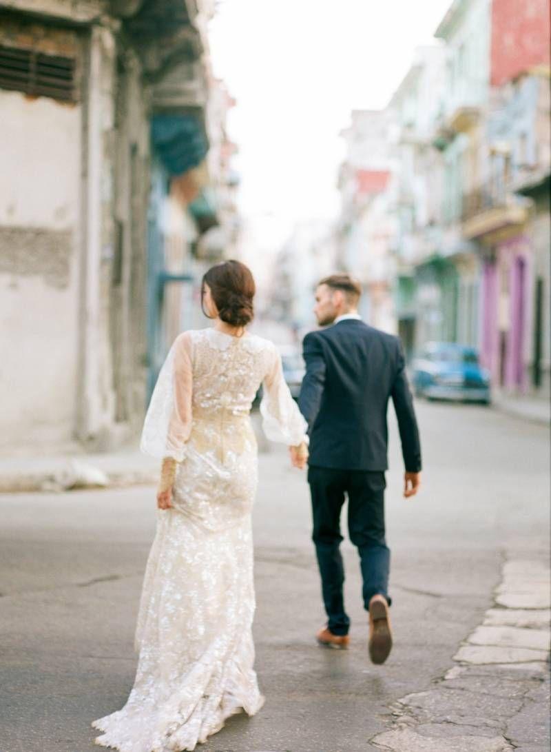 Wedding Inspiration in the streets of Havana via Magnolia Rouge ...