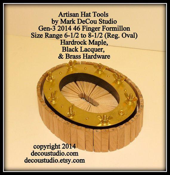 Built To Order Hat Making Conformateur Conformer Formillon Formillion Head Size Measuring Custom Hat Shaping Hat Making Custom Made Hats Custom Hats