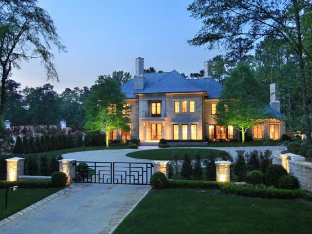 Amazing A Beautiful Atlanta Mansion A Home Worth Dreaming About Interior Design Ideas Tzicisoteloinfo