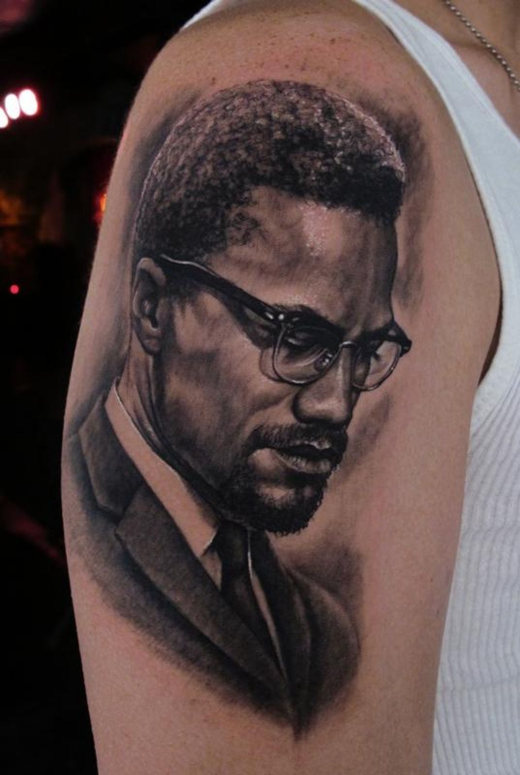 malcolm x tattoo enngraved tattoos pinterest tattoo firefighter tattoos and body art. Black Bedroom Furniture Sets. Home Design Ideas