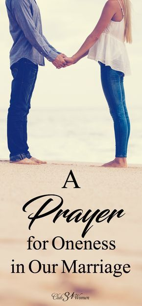 a prayer for oneness in our marriage with free printable