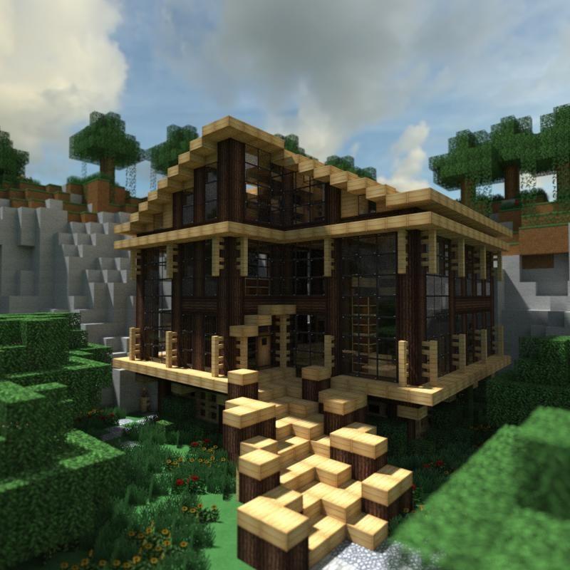 Minecraft Modern, Modern Minecraft Houses