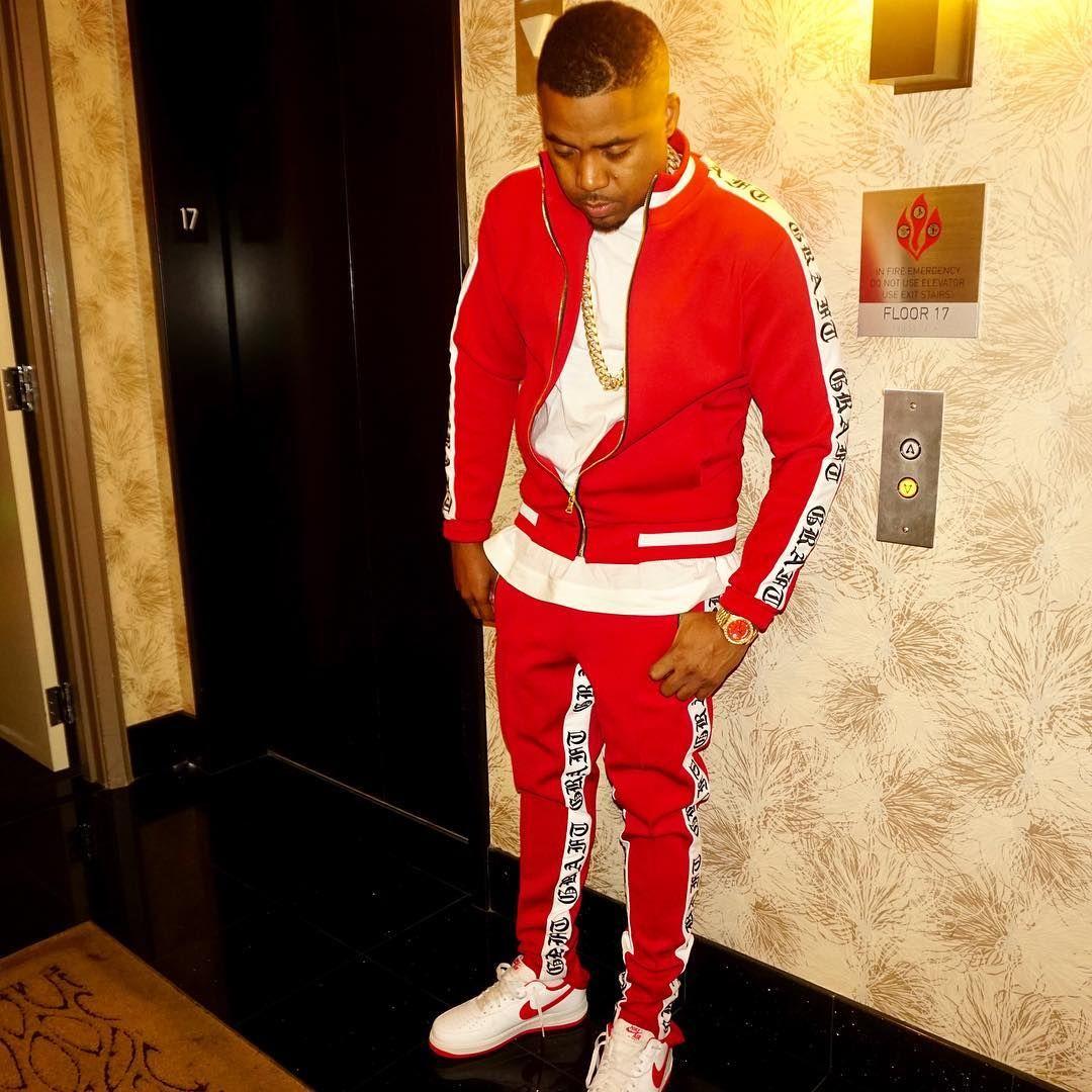 24 6k Likes 539 Comments Nasir Jones Nas On Instagram Blvd Lights Spark A Vegas Night Army Green Jacket Army Jacket Streetwear Fashion