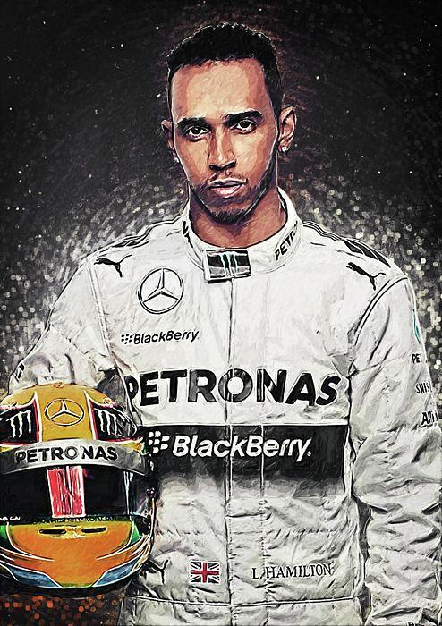 Lewis Hamilton by Zapista OU