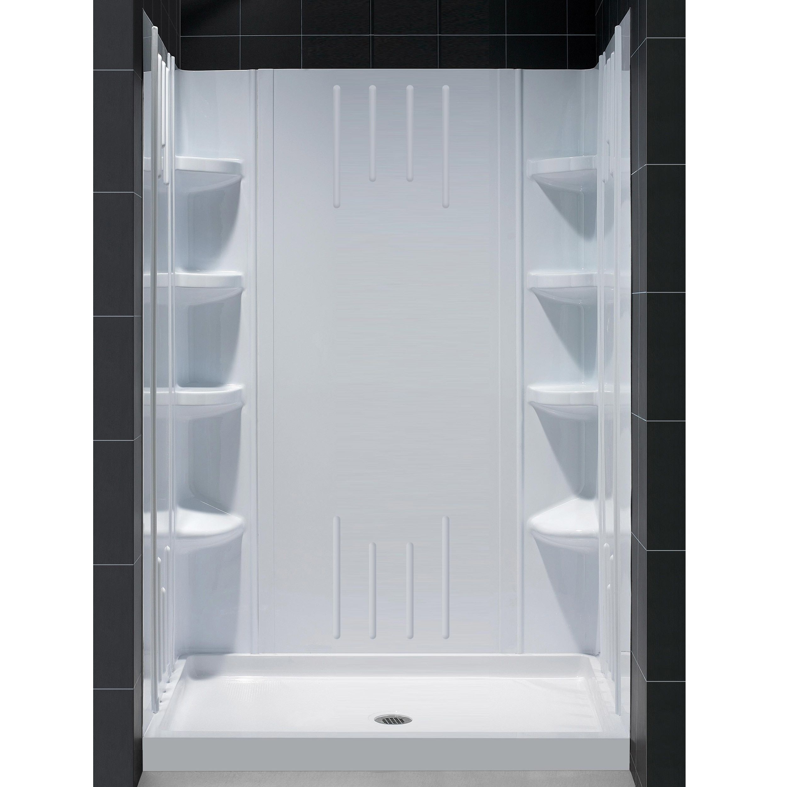 Dreamline Slimline 36 In By 48 In Single Threshold Shower Base
