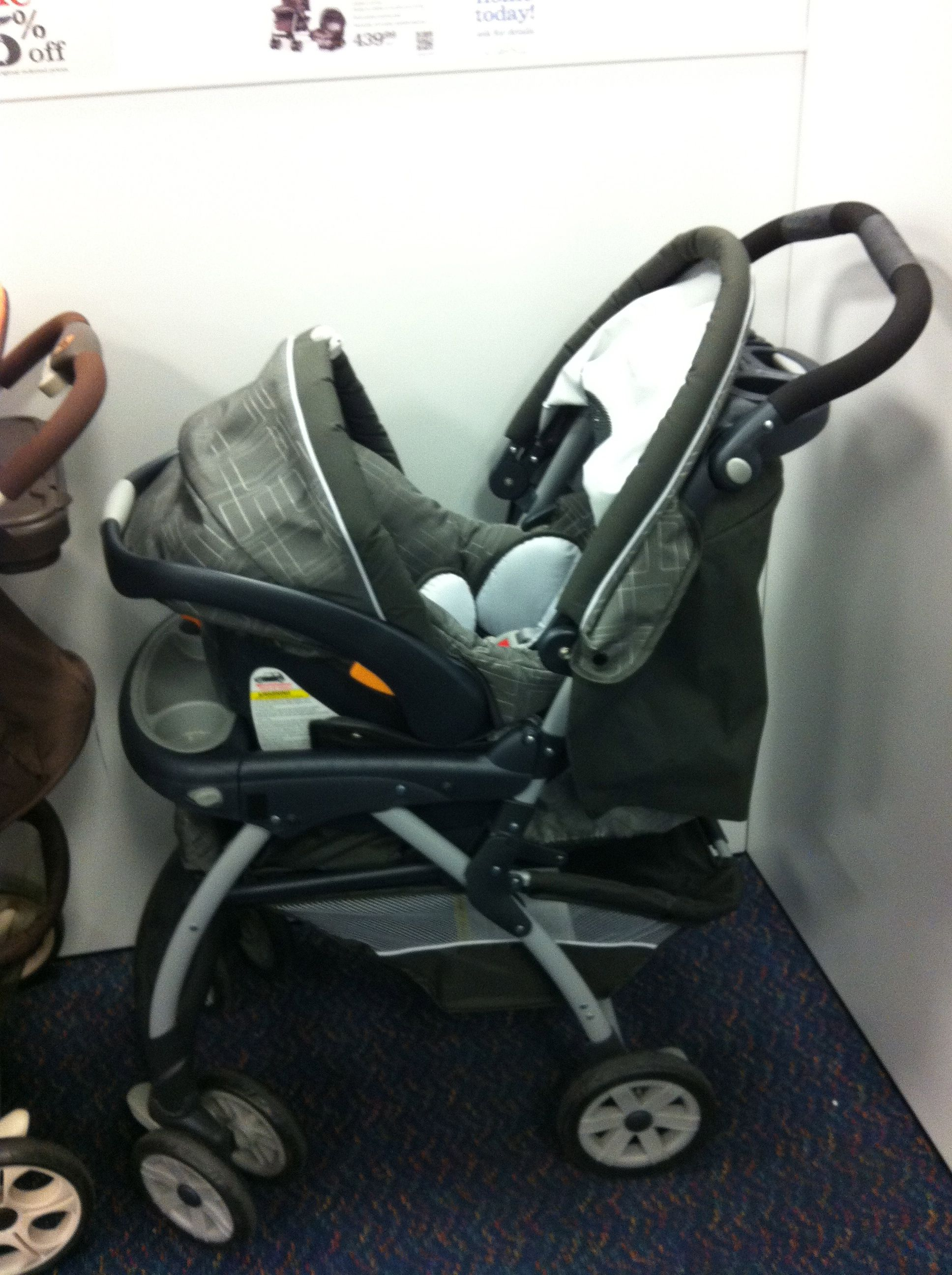 Chicco Travel system at Sears (we want a different pattern
