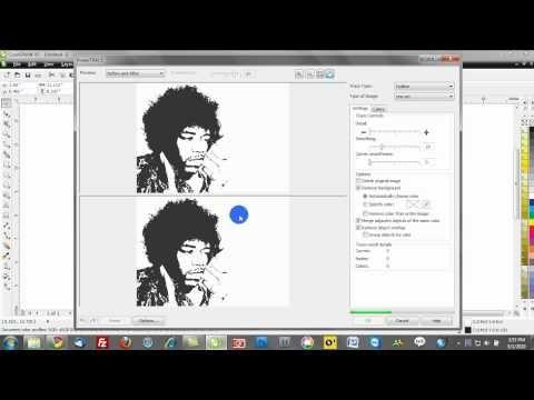 Free Corel Draw training videos: Pop Art Effect | Work
