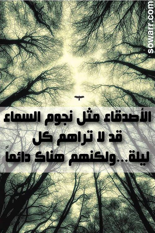 صور كلمات جميلة عن الاصدقاء Sowarr Com موقع صور أنت في صورة Arabic English Quotes Arabic Quotes Quran Quotes Love