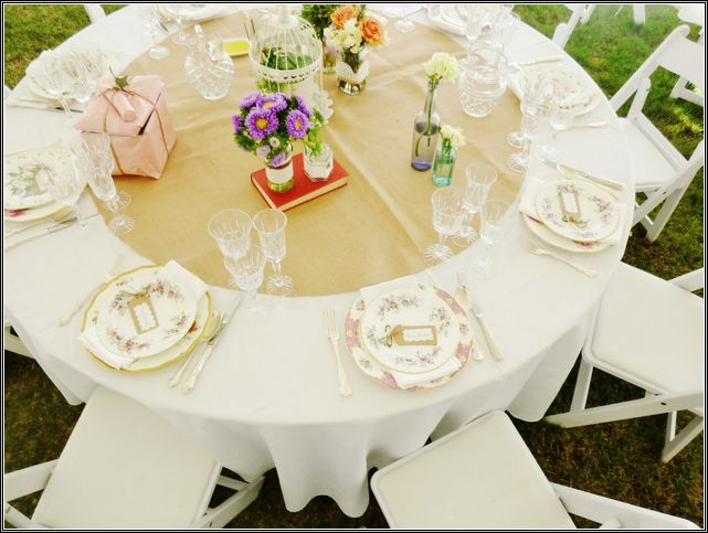 Wedding Table Runners For Round Tables Table Runner Best