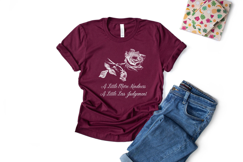 A Little More Kindness A Little Less Judgement ShirtKindness | Etsy