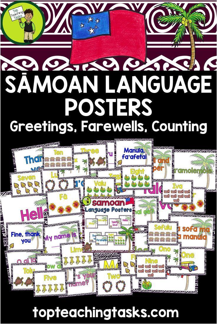 Samoan greetings introductions farewells counting classroom samoan greetings introductions farewells counting classroom display posters pinterest classroom displays language and elementary teacher m4hsunfo