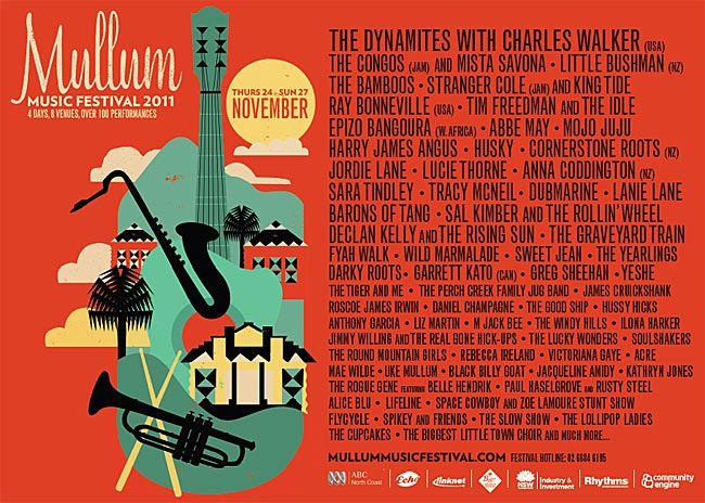 Mullum Music Festival Poster Festival Posters Music Festival Poster Festival