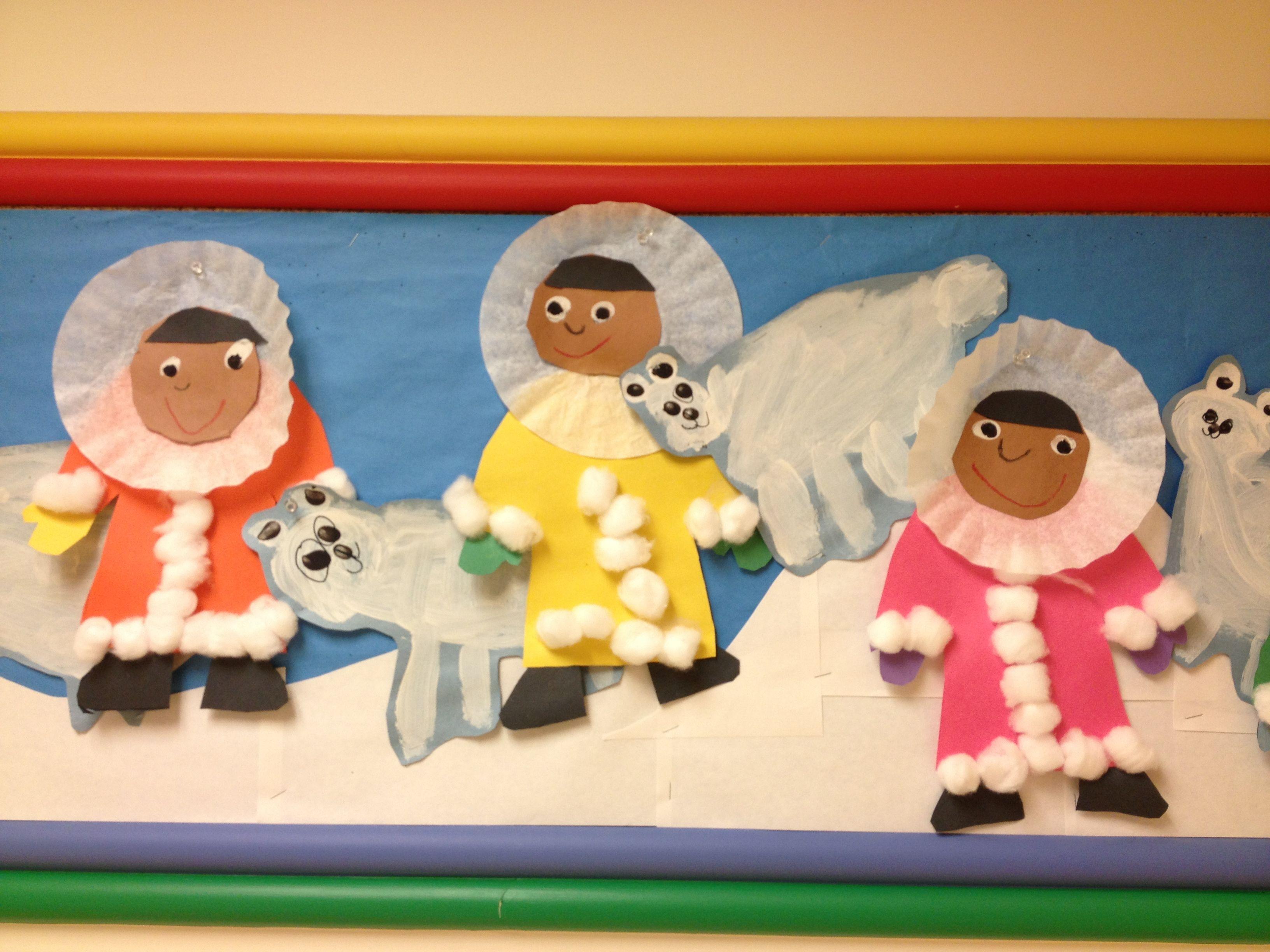 eskimos eisb ren kids art pinterest kindergarten grundschule and schule. Black Bedroom Furniture Sets. Home Design Ideas