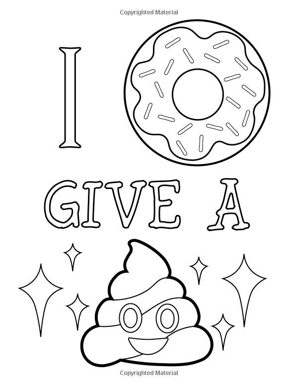 Amazon Com Emoji Coloring Book Of Funny Stuff Cute Faces And Inspirational Quotes 30 Awesome Designs For Emoji Coloring Pages Coloring Pages Coloring Books