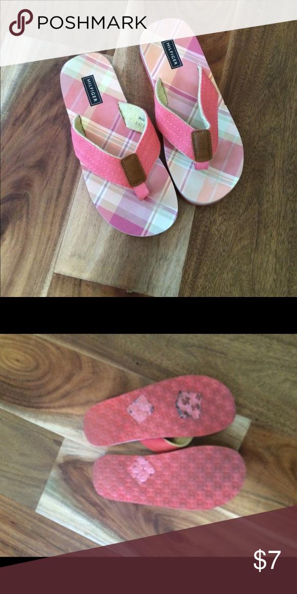 438b1940b Tommy flips Girls Flip Flops - only worn one time. Excellent condition! Tommy  Hilfiger Shoes Sandals   Flip Flops