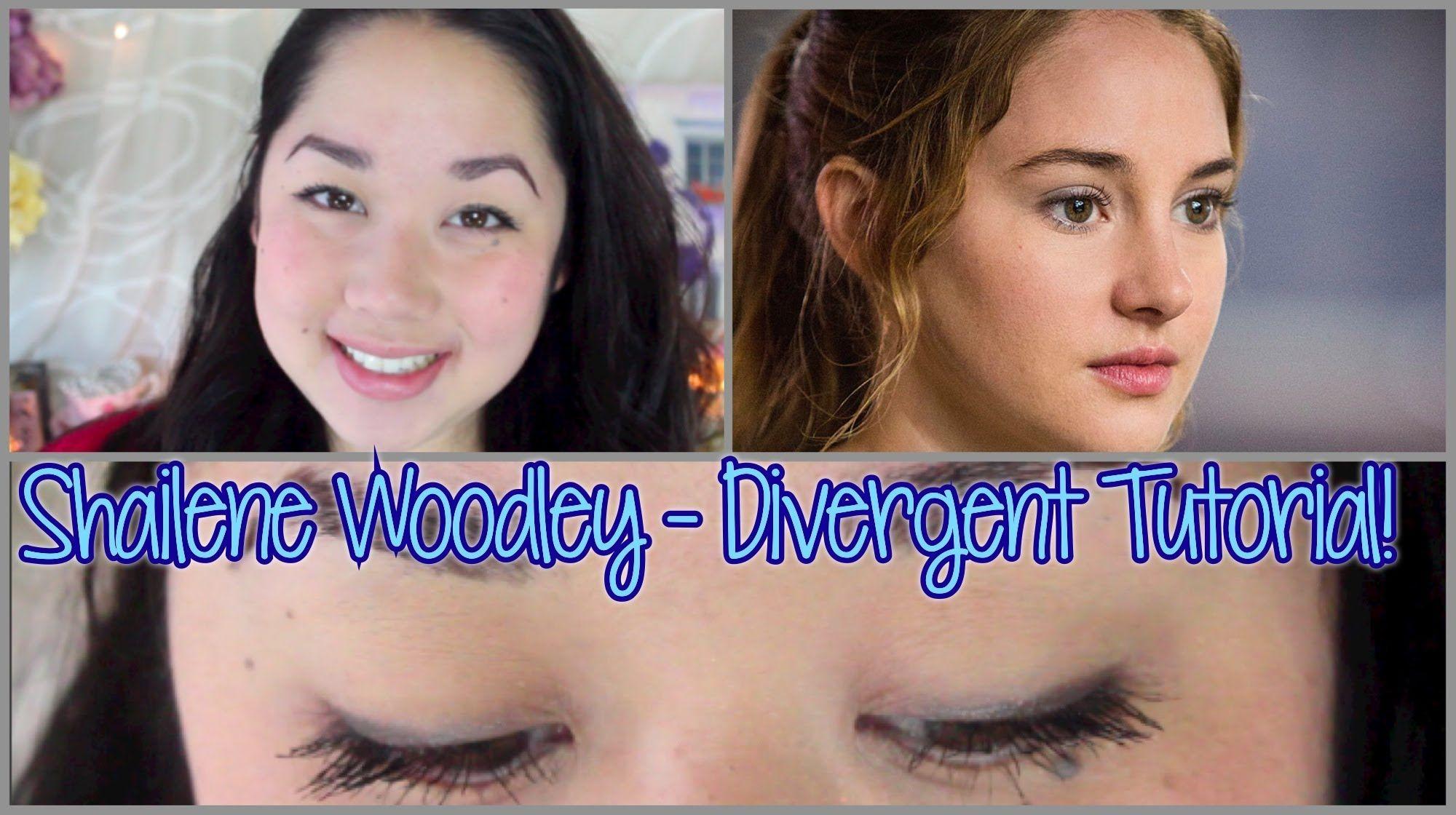 Divergent Tutorial - Shailene Woodley! (Neutral Everyday Makeup)
