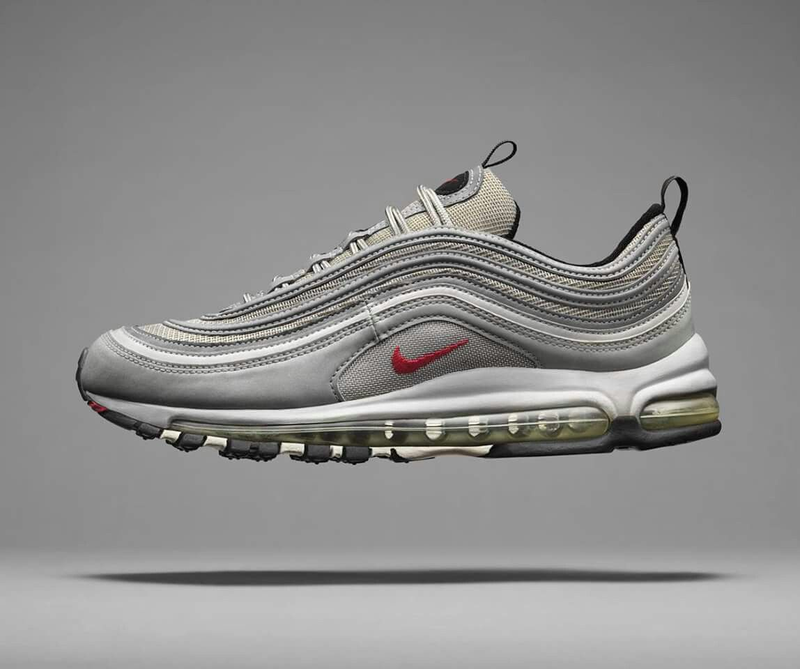 air max 97 silver 44.5