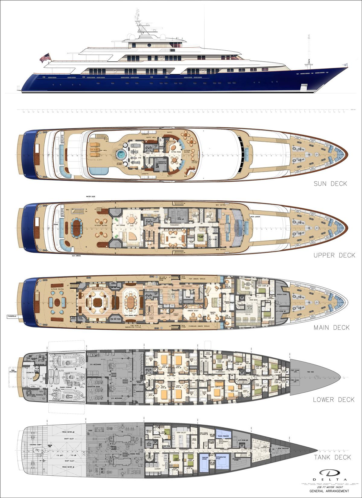 Fleming Yachts Wooden Boat Plans Boats Yacht Design