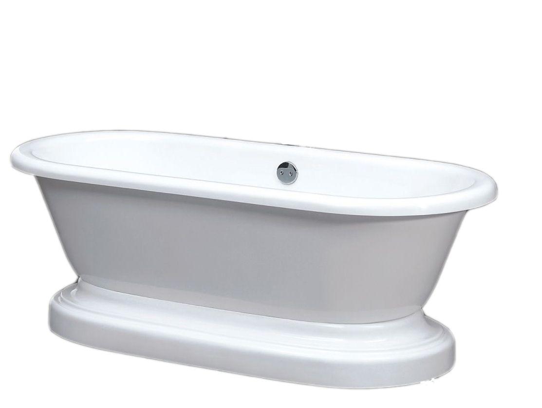 Clawfoot freestanding bathtub by Jetta Corporation. ADEP Penelope ...