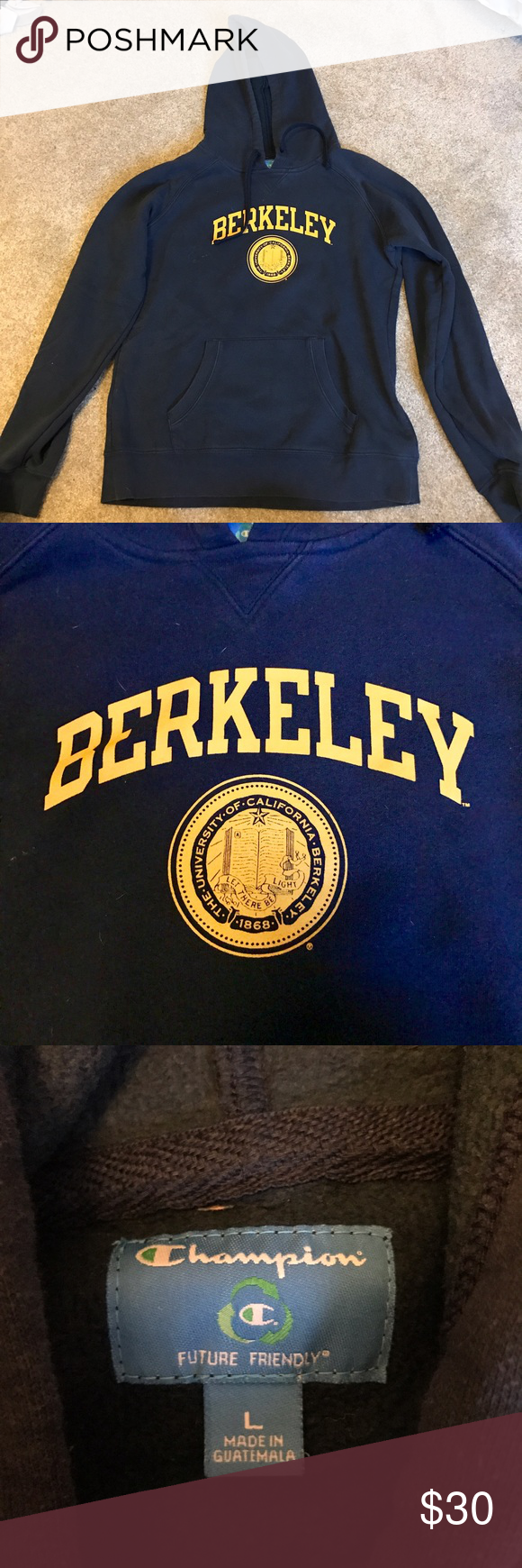 Uc Berkeley Sweatshirt Uc Berkeley Sweatshirt Bought From The Student Store I Ve Worn It About 10 Times But It S Sweatshirt Buy Champion Tops Sweatshirt Tops [ 1740 x 580 Pixel ]